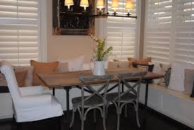 Dining Room : Fascinating Dining Room With White Window Blind And Restoration  Hardware Dining Table Also Black Flooring Idea Make Your Dining Room  Awesome ...