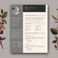 23 Natural Free Download Creative Resume Templates Nadine Resume
