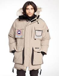 Mens Snow Mantra Canada Goose Cream clearance