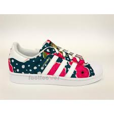 adidas shoes for girls superstar pink. zoom immagine shoes adidas superstar junior s80140 girl white watersea pink flower for girls o