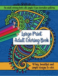 } css isn't my forte, feel free to question this method, but it does get the job done. Amazon Com Large Print Adult Coloring Book Big Beautiful Simple Designs 9781944633271 Brilliant Activity Books Books
