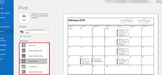 monthly weekly calendar outlook print calendar options a daily weekly monthly plan on paper