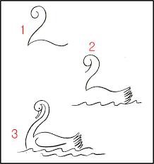 Come Disegnare Un Cigno Baby Stuff Come Disegnare Disegni E