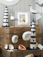 Seaside Decorative Accessories Bathroom Accessories Four Mercuried Glass Tea Light Holders 32
