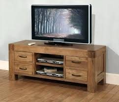 real wood tv stands solid oak television stand a solid reclaimed oak unit with 4 drawers real wood tv stands