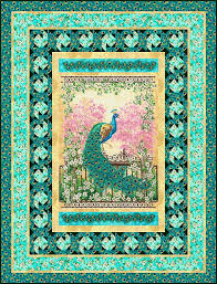 Panel Quilt Patterns Cool Free Quilt Pattern Jewel Of The Garden EQuilter BlogeQuilter Blog