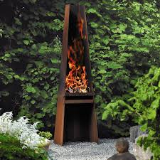 rais gizeh outdoor wood fireplace wood grill
