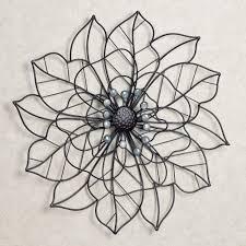 metal wall decor shop hobby: mirrors beauty in bloom flower blossom metal wall art metal