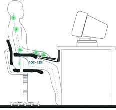 office chair guide. Ergonomic Computer Desk Setup Chair Guide To Setting Up An Station Work Office Adjustment Desktime H