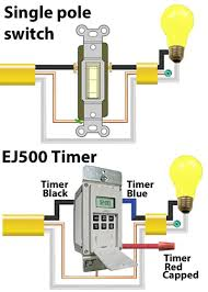 how to wire ej500 timer ej500 wiring