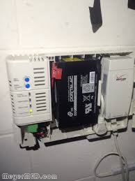 prevent verizon fios internet power outage by modifying your verizon fios online network terminal ont battery backup unit bbu