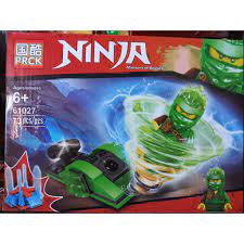 Đồ chơi lắp ráp lego minifigures ninjago con quay con lốc xoáy phần season  11 ninja PRCK 61027 trọn bộ 4 hộp như hình. giảm chỉ còn 140,000 đ