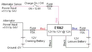 charging caravan battery no mains forums