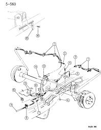1994 jeep cherokee brake lines hoses rear
