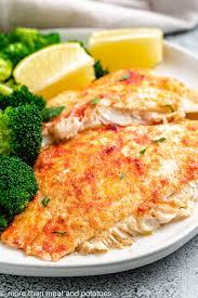 baked flounder with lemon garlic and er