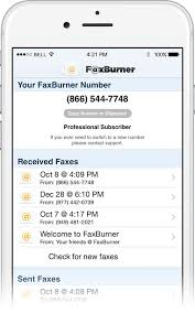 electronic fax free free fax send receive fax to email or mobile faxburner
