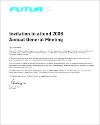 Meeting Announcement Template Annual General Meeting Agenda Template Annual General