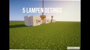 Build Desingshängelampe Etchd Lampen Lets Minecraft 1tkfjcl
