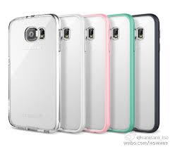 Galaxy S6 cases Alleged Samsung reveals itself under transparent