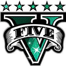 GTA V Logo Green » Emblems for GTA 5 / Grand Theft Auto V