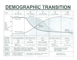 paragraph essay on demographic transition theory