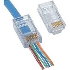 ez rj45 connectors for cat6 cable 50 pieces amazon co uk lighting ez rj45 connectors for cat6 cable 50 pieces