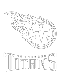 Tennessee Titans Logo Coloring Page Free Printable Coloring Pages