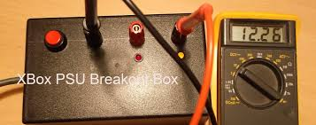 Xbox Power Supply Amber Light Xbox Psu Breakout Box Allan Faulds