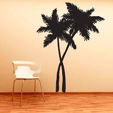 Palm Tree Bedroom Decor Online Get Cheap Palm Tree Wall Sticker Aliexpresscom Alibaba