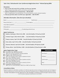 Registration Form Templates For Word Seven Event Registration Invoice And Resume Template Ideas