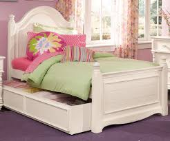 white wooden twin bed frame whit trundle storage with colorful bedrooms flower curtain and pink large
