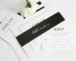Urban Glamour Wedding Invitation