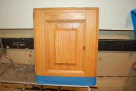Painted Oak Cabinets Caromal Colour Painting Oak Cabinet Door Start To Finish