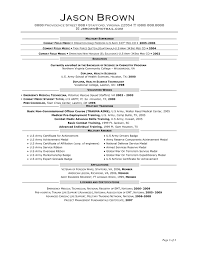 Health Science Resume Objective Associate Of Science Resume College