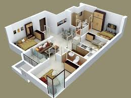 50 four 4 bedroom apartment house plans furniture layout