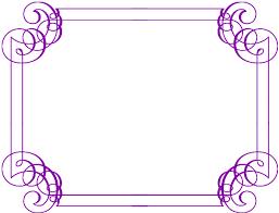 fancy frame border. Purple Border Fancy Frame