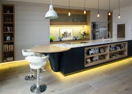 kitchen led track lighting. Nice-looking Modern Apartment Kitchen Interior Deco Contains Pretty Track Lighting Led