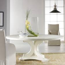 white round pedestal table
