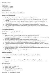 concierge resume sample 2016 for ucwords - Doorman Resume Sample