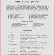 Resume Objective Quality Assurance Inspirational Software Quality ...