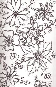 Flower Pattern Drawing