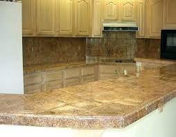 granite tiles on kitchen island tile countertops traditional