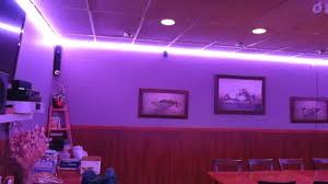 flexfire leds accent lighting bedroom. RGB LED Accent Lighting. Lights At Wall Crown Around Restaurant Private Room. - YouTube Flexfire Leds Lighting Bedroom G