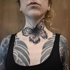 20 крутых вариантов тату для девушек на шее