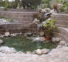 retaining wall pond