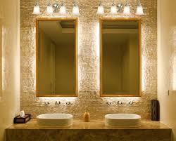funky bathroom lighting. Funky Bathroom Lighting. Lights Lighting Wonderful Backlit Bathoom Mirrors On The Golden Light H