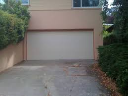 flush panel garage doorA flush faced steel garage door is the ultimate compliment to your