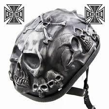 skull motorcycle helmets ebay