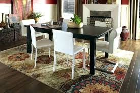 should i put an area rug under my dining room table rugs tables a