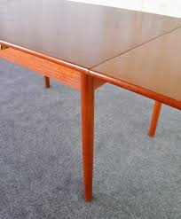 Mid Century Modern Expandable Dining Table Mid Century Modern